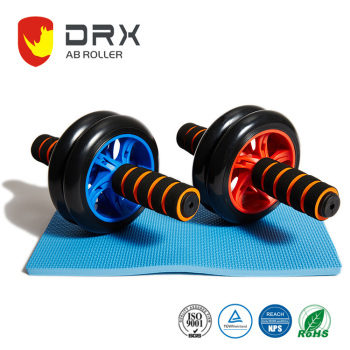Custom Design Fitness Double Wheel AB Muscle Roller In Gym Equipment
