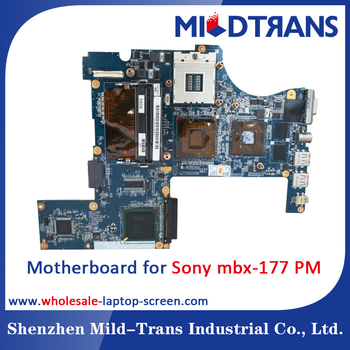 100% testing laptop Motherboard for Sony mbx-177 PM notebook parts