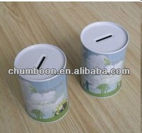 D89mm Food Grade Metal Round Tin Box for Coin