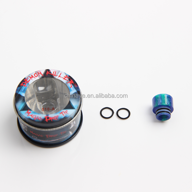 Wholesale alibaba 510 epoxy resin Demon Killer mouthpiece free vape mods 510 vape tips DHL