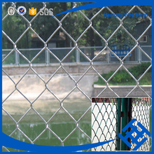 Anti-corrosion pvc coated chain link fence netting