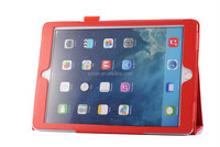 "High Quality Lychee PU Leather Case with Stand For ipad 6 iPad Air 2 9.7"" inch"