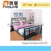 Guangzhou Bedroom Furniture Wrought Double Four Poster Bed
