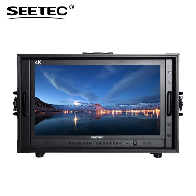 10bit IPS panel broadcast 4K 3840*2160 high resolution led 23 inch monitor for director production
