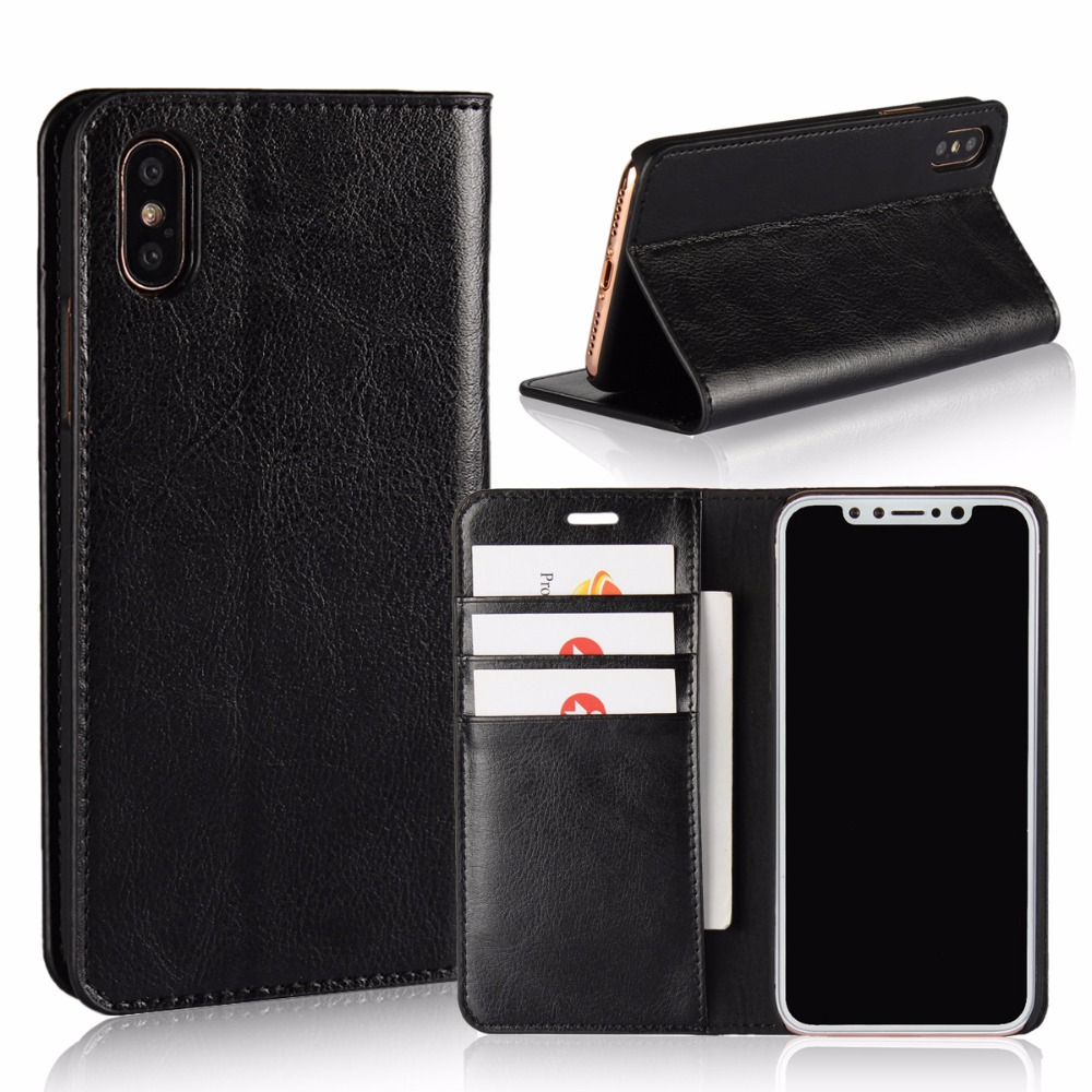 Original Mobile Phone Accessories Back Cover For iPhone 8 And 8 plus Leather Cases