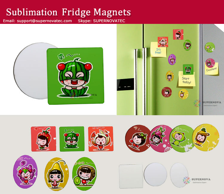 Personalized Fridge Magnet ,Sublimation Fridge Magnet