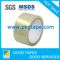 48mm clear self adhesive waterproof tape