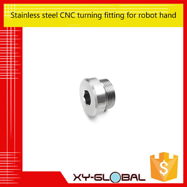 Stainless Steel CNC Turning for Robot Hand