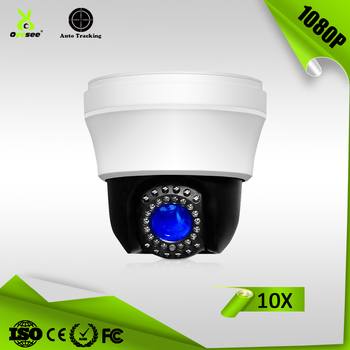 4 in 1 AHD CVI TVI CVBS 1080p 10X 25m IR range mini 4 inch hd ptz camera