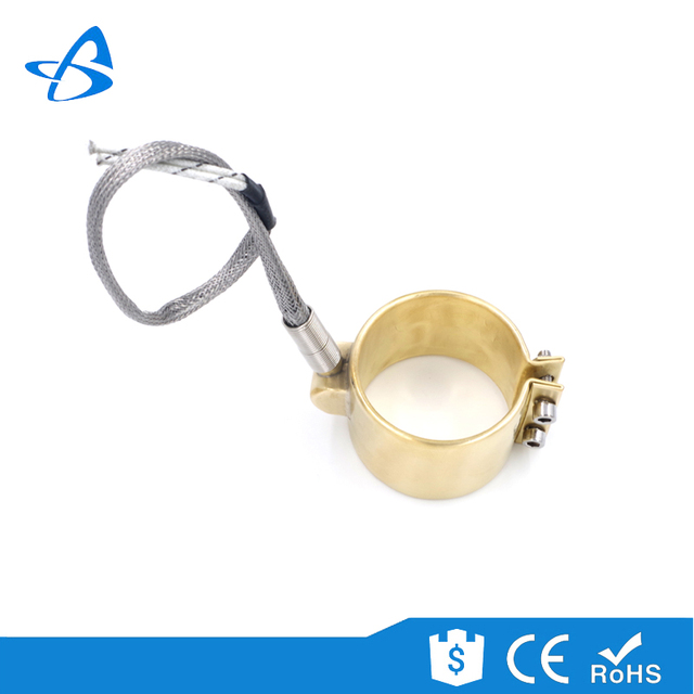 China gold Alibaba supplier 230v 300w/400w brass mica ring heater