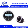 Cheap price Gauge radio Bluetooth Music with remote for BOAT ATV UTV HOT SPA