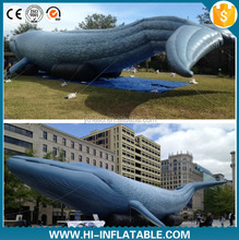 Hot-sale Airblowing Inflatable whales sea animals