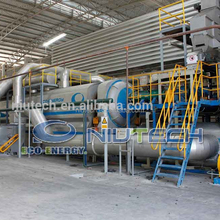 High oil output waste plastic pyrolysis to oil plant with CE/TUV/SGS