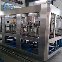 Full automatic automatic carbonated beverage can drink filling machine