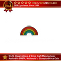 Factory Wholesale Custom Gay Pride Rainbow Lapel Pin