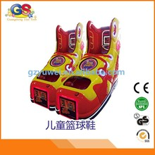 basketball shoe kids plastic basketball typing games children game