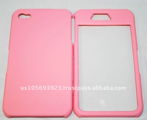 pink Rubberized Case for Apple Iphone 4 & 4s with best quality, good price!
