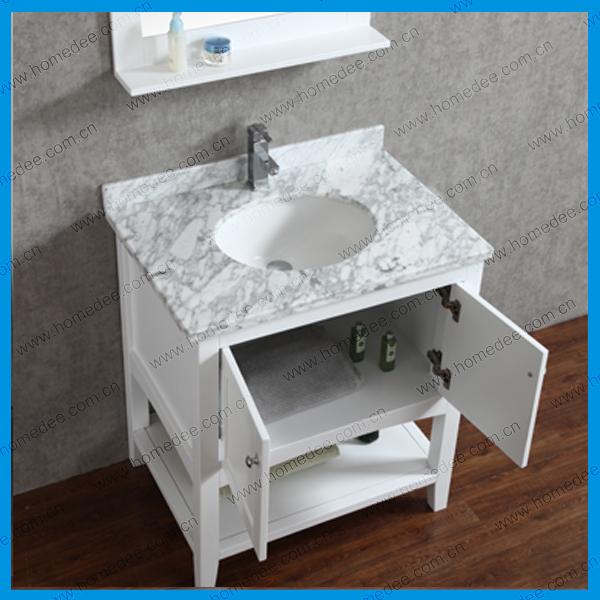 Homedee North America Style Modern Solid Wooden Bathroom