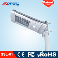 Smart Waterproof Led Solar Street Light Lithium Battery Rechargeable