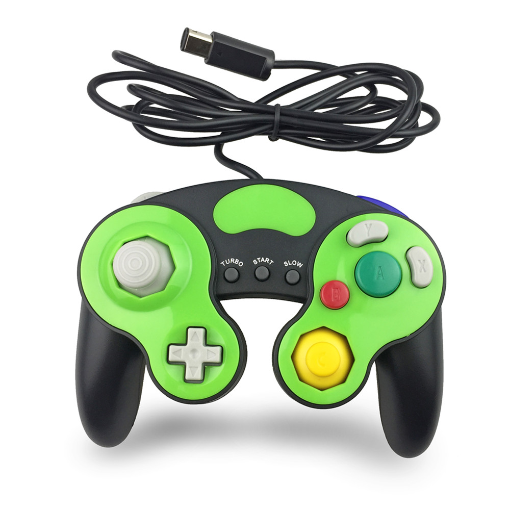 For Nintendo Gamecube NGC Wired Shock game Controller