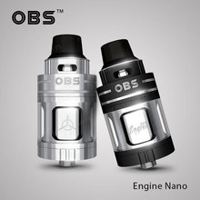 HeavenGifts Supplier 5.3ml OBS Engine Nano RTA Tank vape ape vaporizer