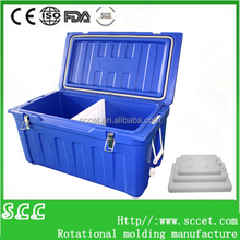 Rotomolded Polyurethane cooler box marine coolers outdoor ice chest