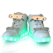 2016 LED shoes factory made high quality adults LED light up shoes