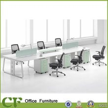 aluminium frame wooden panel office partition workstations wall system (OW-CD1030)