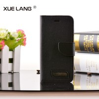 High Quality Pu Leather Case for Samsung Galaxy Note 3 Stand Cover Case black