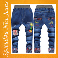 2016 jeans new designs photos price of denim baby jeans baby boy jeans SYBJ-022