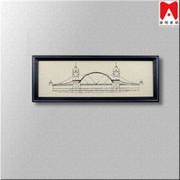 Decorative Canvas Wall Decor Frame Poster A4 Raw Material Of Picture Photo Frame