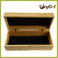 Cheap Natural Handmade custom 100% wood bamboo sunglasses case
