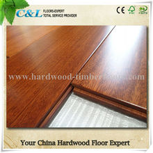 Good price high quality T&G system iroko wood parquet flooring