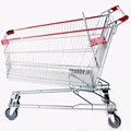 180L Hand Shopping Trolley carts with large volume
