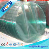 New design round or square glass table top with polishing edge