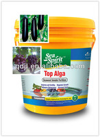 Black seaweed slow release preparation of organic fertilizer