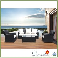 High Quality Rattan Sofa Set Waterproof Cushions For Outdoor Furniture