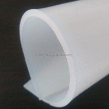 medical grade transparent silicone rubber sheet roll