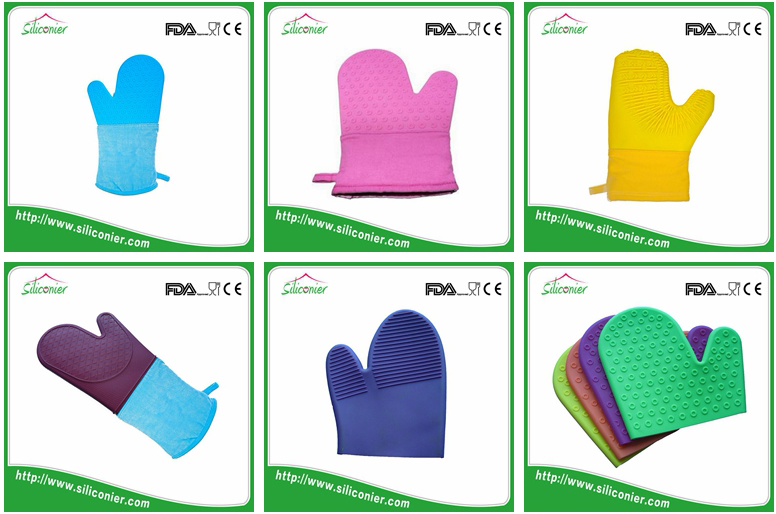 China manufacturer silicone baking glove