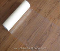 PE transparent free sample hardwood floor protection film