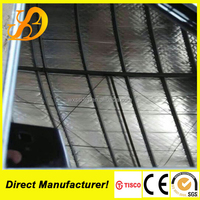 SSDmetal mirror polished titanium coated 0.8mm stainless steel sheet