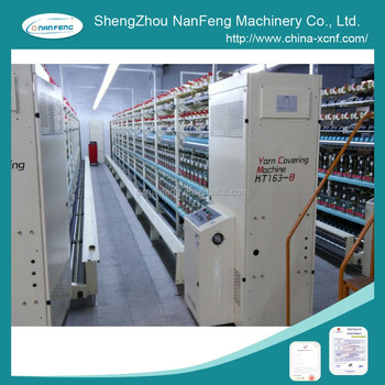 NanFeng KT 163-A Spandex Yarn Covering Machine (menegatto/OMM Type)