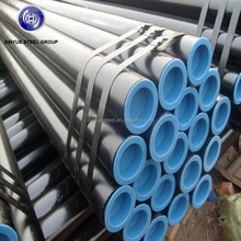 ASTM A53 specification for black seamless steel pipes