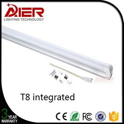 RoHS/CE Approval integrated LED Tube Lighting 1200mm t8 led xx tube