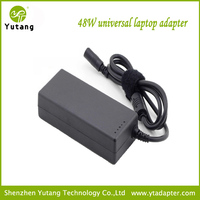 48W universal computer adapter with 8 tips with usb
