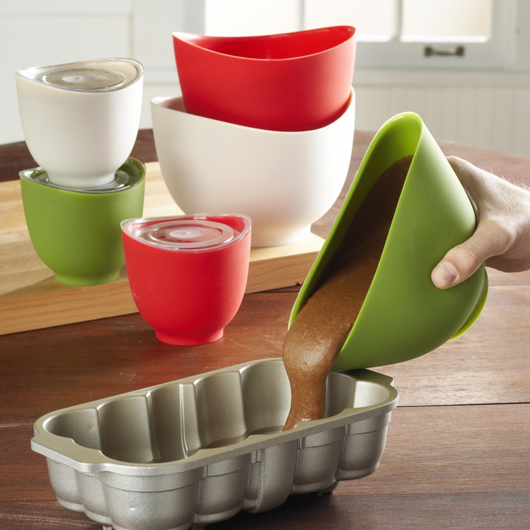 OEM Flexible Silicone Mixing Bowl