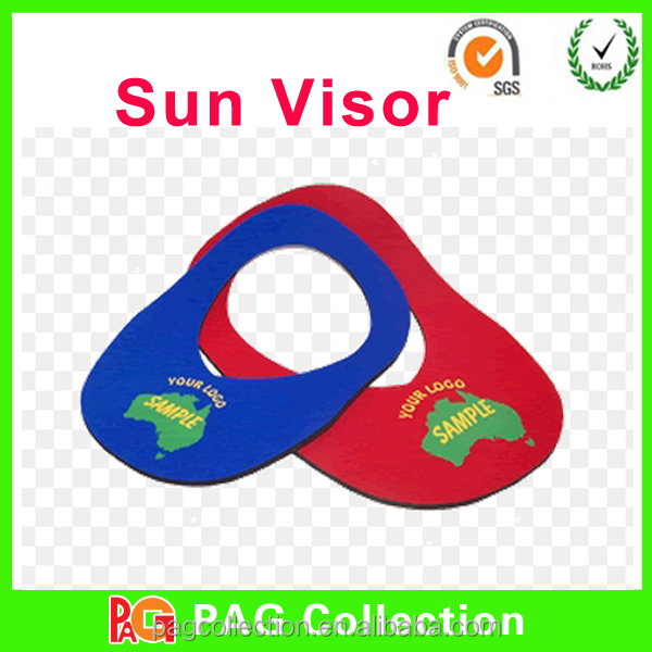 Hot Selling Neoprene Foam Sun Visor