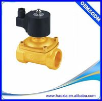 China two-way solenoid valve for water 3/4""
