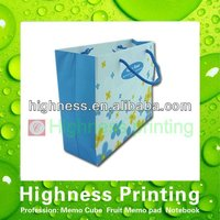 custom printed paper gift bag with creation style