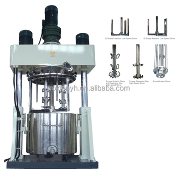 Hot melt sealant dispersing power blender